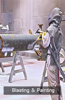 3.Blasting & Painting